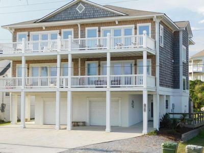 Photo for Carolina Can - 3 Story Family Home, 1 row back with amazing ocean views