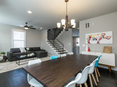 Beautiful 4-Story Home Minutes from Downtown - Book Now!