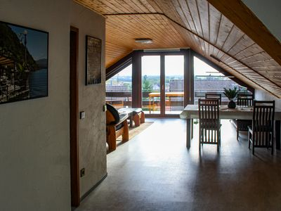 Photo for Weitblick - holiday apartment / above the roofs of Oberotterbach