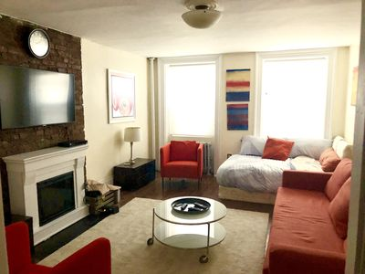 Photo for Historic, Charming Garden Apt. in cool and exciting Ft. Greene Brooklyn