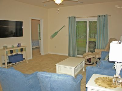 Photo for BareFoot Resort - 1st Floor Golf Getaway, Pools, Biking, & Relaxation!