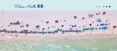 Photo for Palms North 8B Located on Florida's Emerald Coast...