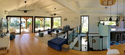 Photo for Magnificent villa 2nd line sea view 4 bedrooms