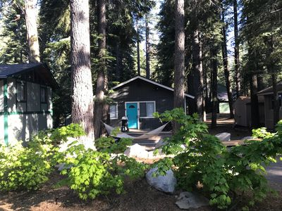 Photo for Hidden Willow - Tahoe Park 2 BR - Walk to Private Beach and Restaurants