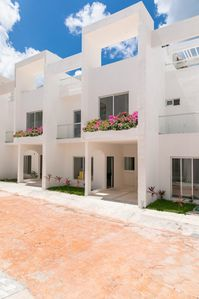 Photo for Beautiful 2 bedrooms house frontbeach in Cozumel
