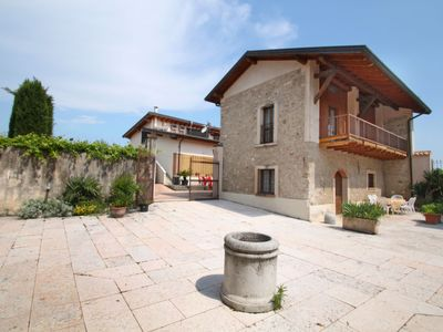 Photo for Apartment Colombaro  in Salo', Lake Garda - 7 persons, 3 bedrooms