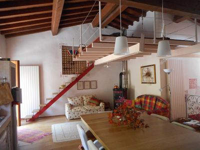 Photo for Quiet house in the mountains just minutes from Lake Ideo
