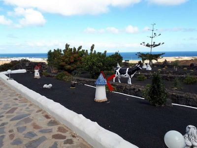 Photo for Apartment BATAYESKO in Tabayesco for 3 persons with shared pool, terrace, garden, balcony, views to the ocean, views of the volcanoes, WIFI and less than 2000m to the sea