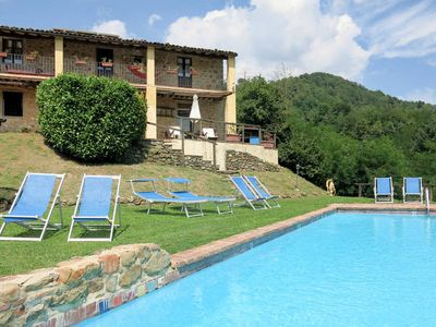 Photo for Vacation home Rustico Le Altane  in Pieve a Fosciana (LU), Pisa - Lucca surroundings - 7 persons, 4 bedrooms