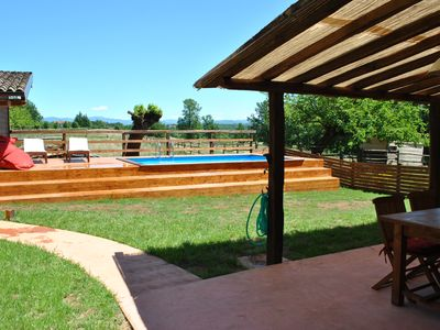 Photo for Independent Lux Apartment with Private Swimming Pool and Garden