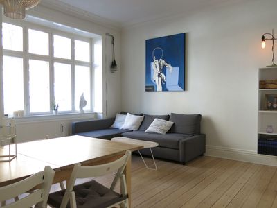 Photo for City Apartment in Frederiksberg with 2 bedrooms sleeps 5