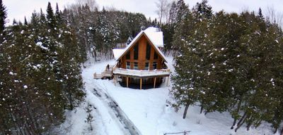 "Photo for Log house ""Chalet du Bois Rond"", newly renovated, eco-friendly"