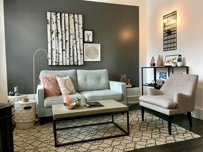 Photo for Tranquil designer space in an historic Lunenburg home