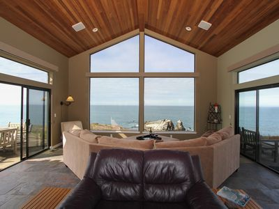 Photo for Spectacular Oceanfront Views From Every Room Of This Timber Cove Home