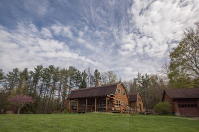 Located on 7 acres of property far enough for retreat, but close enough to town.