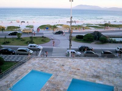 Photo for 3 bedroom Apartment in front of Praia do Forte - 2 suites