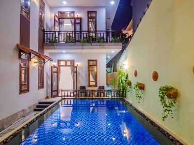 Photo for Impression Riverside House Private Pool near Hoi An Center