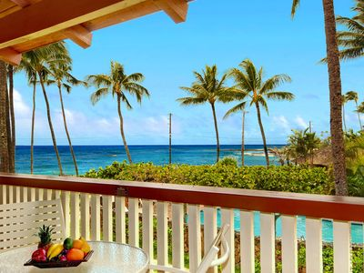 Photo for Nihi Kai 202 Ocean View - Awesome Poipu Beach - 25% OFF ON SELECT 2020 DATES