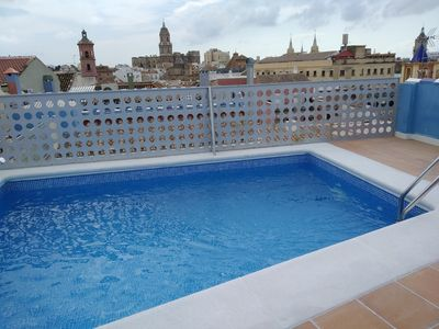 Photo for Beautiful apt for families in great location old city & POOL, wifi, aircon