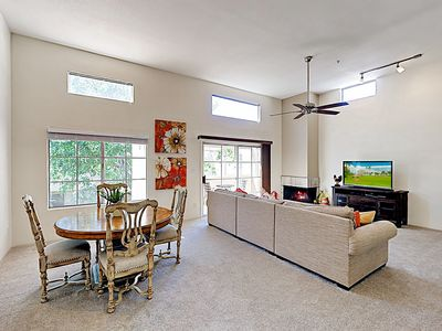 Photo for New Listing! Expansive Resort-Style Retreat w/ Fireplace - 2 Pools & Gym