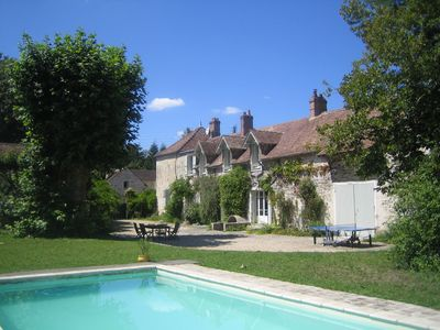 Photo for Charming Family House with Swimming Pool close to Fontainebleau
