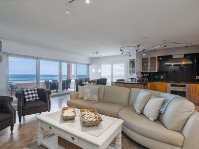 LOCATED DIRECTLY ON BEACH WITH ABSOLUTELY FABULOUS SUNSET VIEWS!!!  BOOK NOW!!