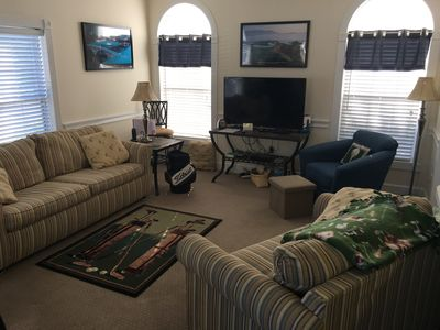 """New 49"""" HD TV and Living room refresh September 2017"""