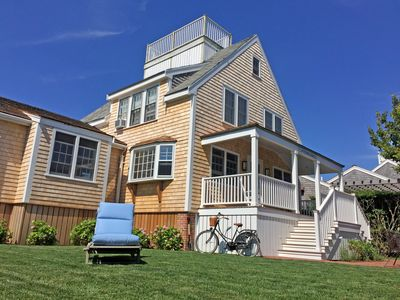 Photo for Brant Point beach house 1/2 mile from town. Quiet cul-de-sac on nature area.