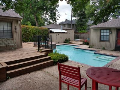 Photo for Lakewood Area Bungalow with Pool and Deck