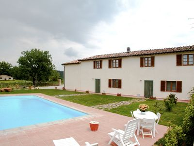 Photo for Country House with private pool on the hills of Siena (near Monticiano)