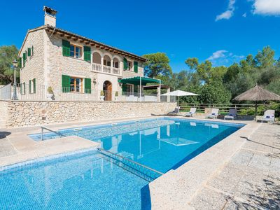 Photo for Rural idyll with pool - Villa Son Capellet