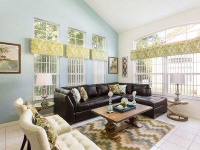 Photo for Beautiful Disney Vacation Home,4 Miles to Disney,4 Bedrooms/3.5 Baths,Sleeps 9