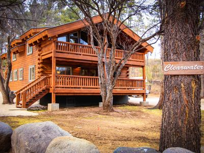 Photo for In the heart of Ruidoso beside the gurgling stream. Nature & nightlife abound