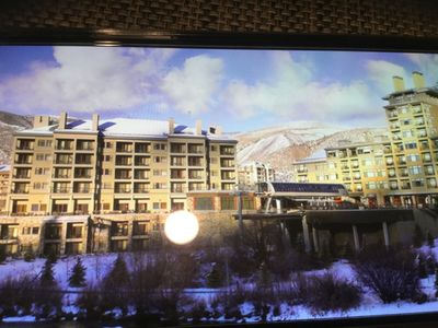 Photo for Luxurious Villa Resort in the Heart of Vail Valley 2 Bd 2 bath Presidents Week