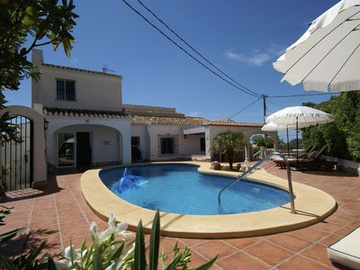 Photo for Unique villa with private swimming pool in a quiet residential area of Jávea
