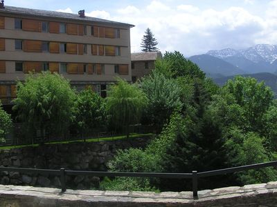 Photo for Apartment with a beautiful view in a park with facilities such as a pool