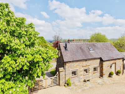 Photo for Luxury detached stone cottage in Peak District village with  stunning views