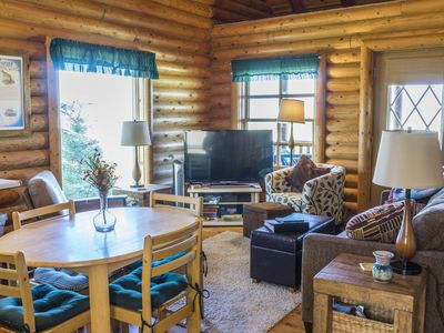 Photo for Adorable Montana Log Cabin Overlooking the Madison River Valley