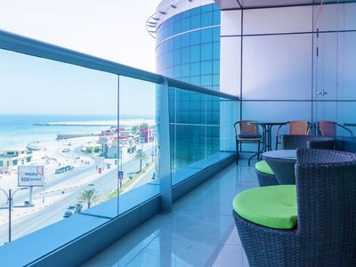 Photo for Luxury 1 BR Beach Apartment with Full Sea View