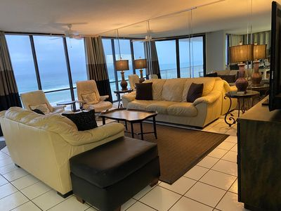 Photo for 3 BR/3 BA Beachfront Condo With Amazing Views!