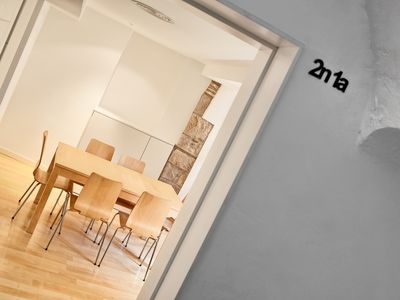 Photo for Girona Cool Apartment: 2nd floor overlooking the river, historic center