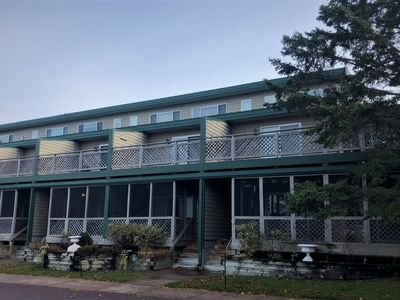 Photo for Downtown Condo Across from Joni`s Beach on Madeline Island