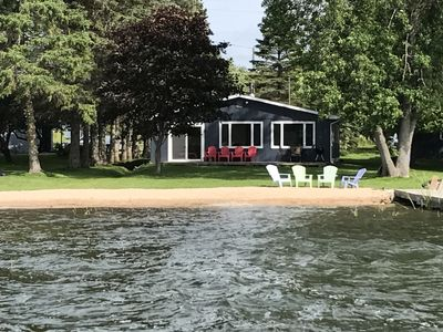 Photo for Waterfront Cottage w/dock in Les Chenaux Islands, Cedarville MI