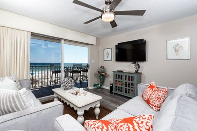 The Palms 203 is a coastal DREAM-you will LOVE it!! - This newly redecorated condo is absolutely stunning with the best of both comfort and style~