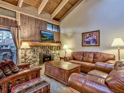 Photo for 4-Br, Updated Mountain Style Townhome steps from Lake Tahoe