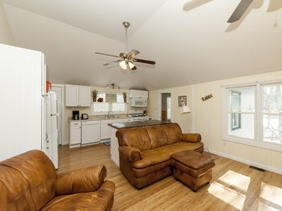High ceilings and open concept allow plenty of room for everyone!