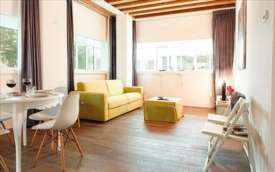Photo for Bright 2 bedroom apartment in Canneregio, Venice