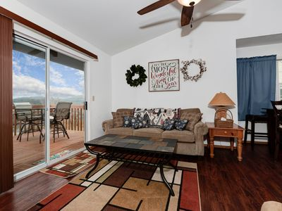 Photo for Inviting Top-Floor Lake View Condo w/ Indoor Pool, avoid SDC traffic