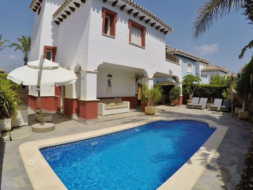 Villa On Mar Menor Golf Resort Murcia High Quality 3 Bed With Pool Torre Pacheco