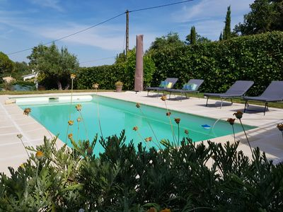 Photo for BEAUTIFUL 2 PIECES A PEYMEINADE - SWIMMING POOL - CLOSE GRASSE CANNES FAYENCE